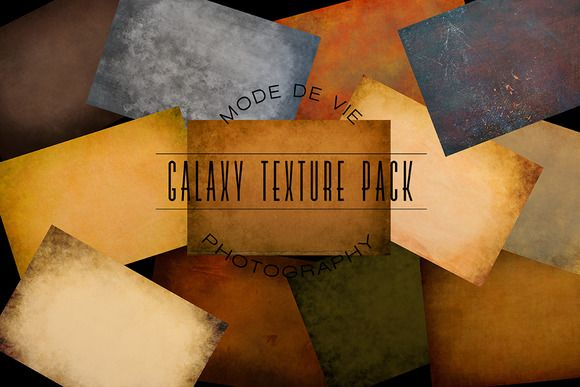 Galaxy Texture Pack by MDVPresets on @creativemarket