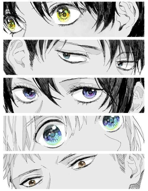 Attack on Titan eyes