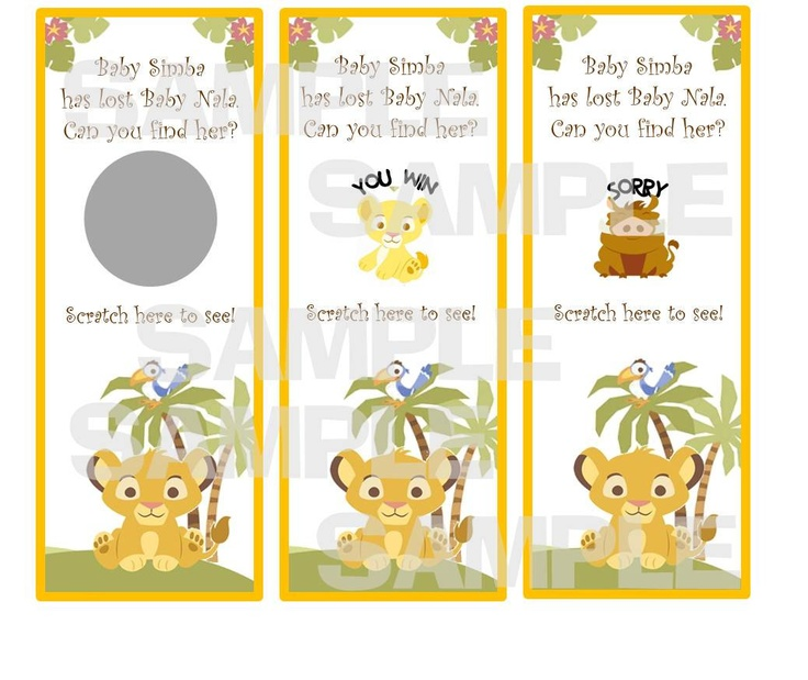 99 best images about lion king baby shower on pinterest   disney, Baby shower invitations