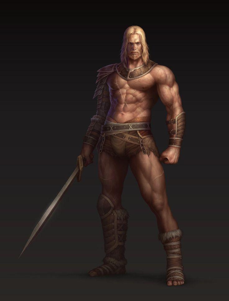 Gladiator, Hanchae Moon on ArtStation at https://www.artstation.com/artwork/gladiator-00a69b36-1f88-4410-9b32-4bc65e0c4b9a