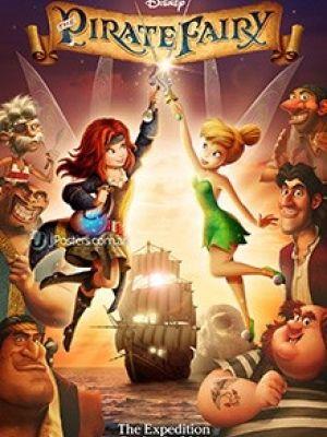 Phim Tinker Bell Và Hải Tặc Tiên (The Pirate Fairy)   HD   2014