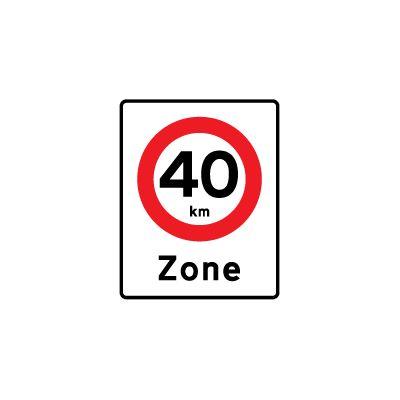 Zone med lokal hastighedsbegrænsning E 68,4