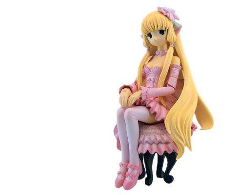 Аниме фигурка Чи в розовом платье