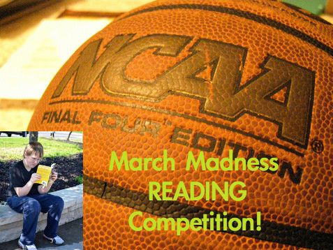 Our School's March Madness Reading Competition :: PragmaticMom