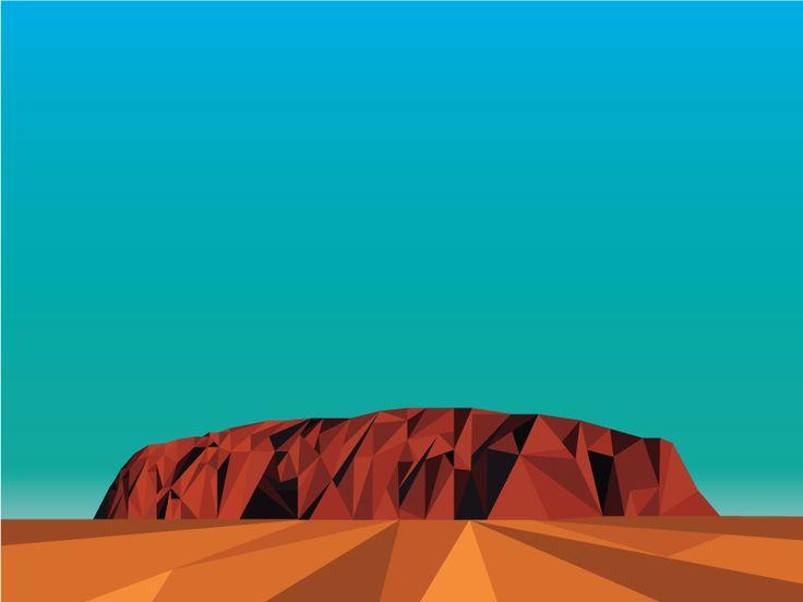 Ayres Rock by Craig Davis