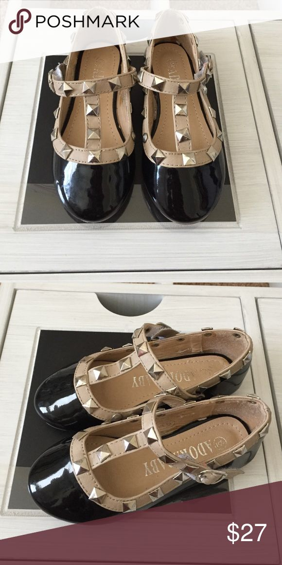 Baby girl Valentino rockstud look alike Excellent condition Valentino Shoes Flats & Loafers