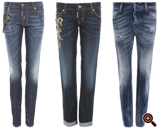 Dsquared Jeans für Damen & Herren - Designer Hosen & Shorts im Outlet & Sale