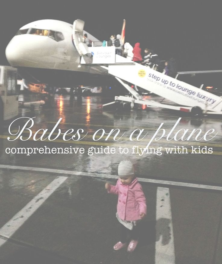 Babes on a Plane...my guide to flying with kids!This is the best guide to flying with young children I've ever seen!  This mom is a pro!