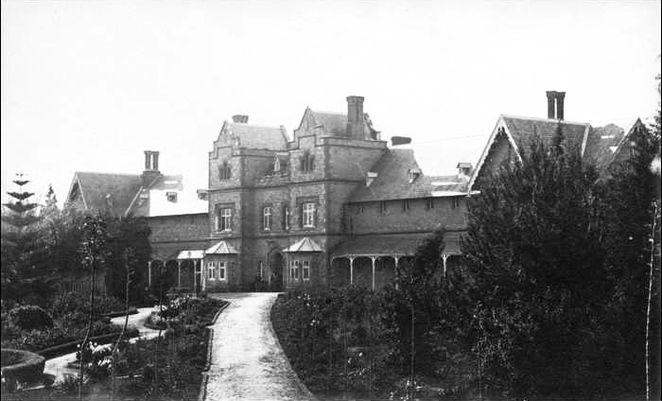 Adelaide, Australia Lunatic Asylum 1878
