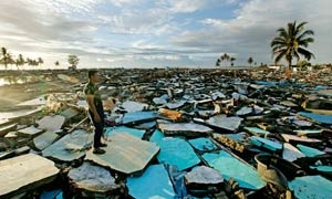 The devastated beachfront at Meulaboh, Aceh, Indonesia
