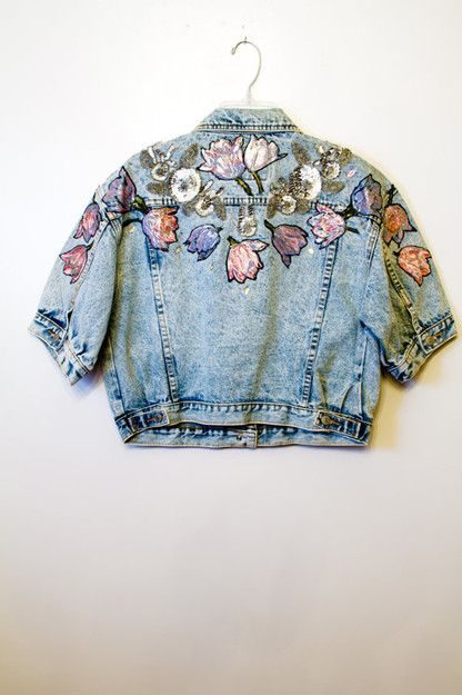 Love embroidery