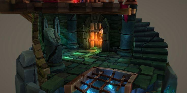 Diorama: Hero Quest Tribute - Cartoon Dungeon - 3D