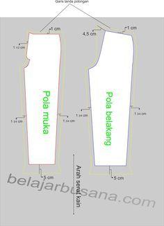 Pada artikel sebelumnya telah dibahas bagaimana cara menggambar pola celana panjang, maka pada posting kali ini kita lanjutkan dengan mate...