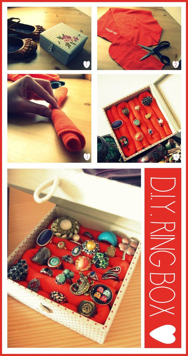 This is an amazingly smart idea - diy-ring-box-tutorial (IMO) #clever #crafts #diy