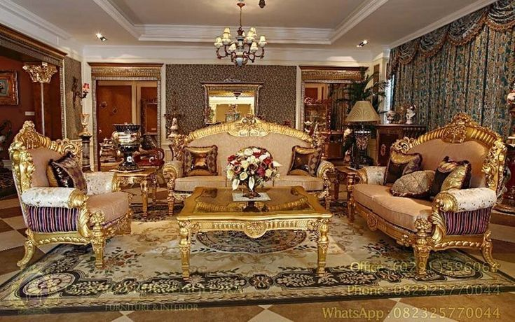 Kursi Tamu Mewah Rococo Gold Leaf – Furniture berdesain klasik eropa memang memiliki ciri khas dan keistimewan tersendiri di mata para penggemarnya. Keelokan liukan liukan ukiran mebel jepara sangat indah bernilai seni tinggi yang dapat menimbulkan kesan mewah dalam setiap ruangan. Kursi Tamu Mewah Rococo Gold Leaf merupakan salah satu katalog produk kami model Kursi Tamu berdesain klasik eropa yang cantik dan mewah untuk anda terapkan pada ruangan ruang tamu rumah anda. Kontruksi yang kuat…