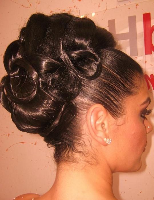 Surprising 1000 Images About Prom Hairstyles On Pinterest Bridesmaid Short Hairstyles For Black Women Fulllsitofus