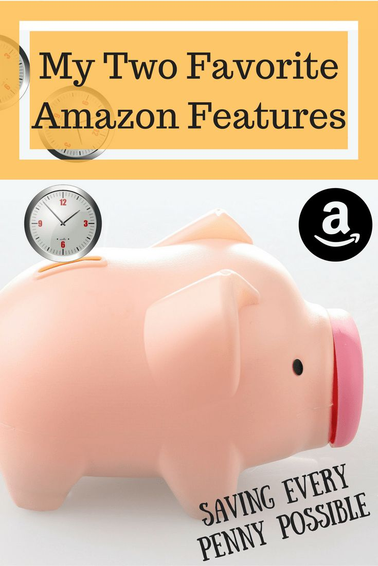 My Two Favorite Amazon Features: Saving Every Penny Possible | Emma Conrad - Spread More Happiness Blog Two little tips to save even more on the already low prices on Amazon!