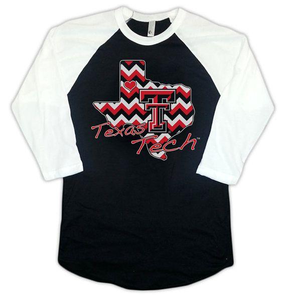 Texas Tech Red Raiders Licensed Shirt Chevron by AttitudeGraphics, $29.95