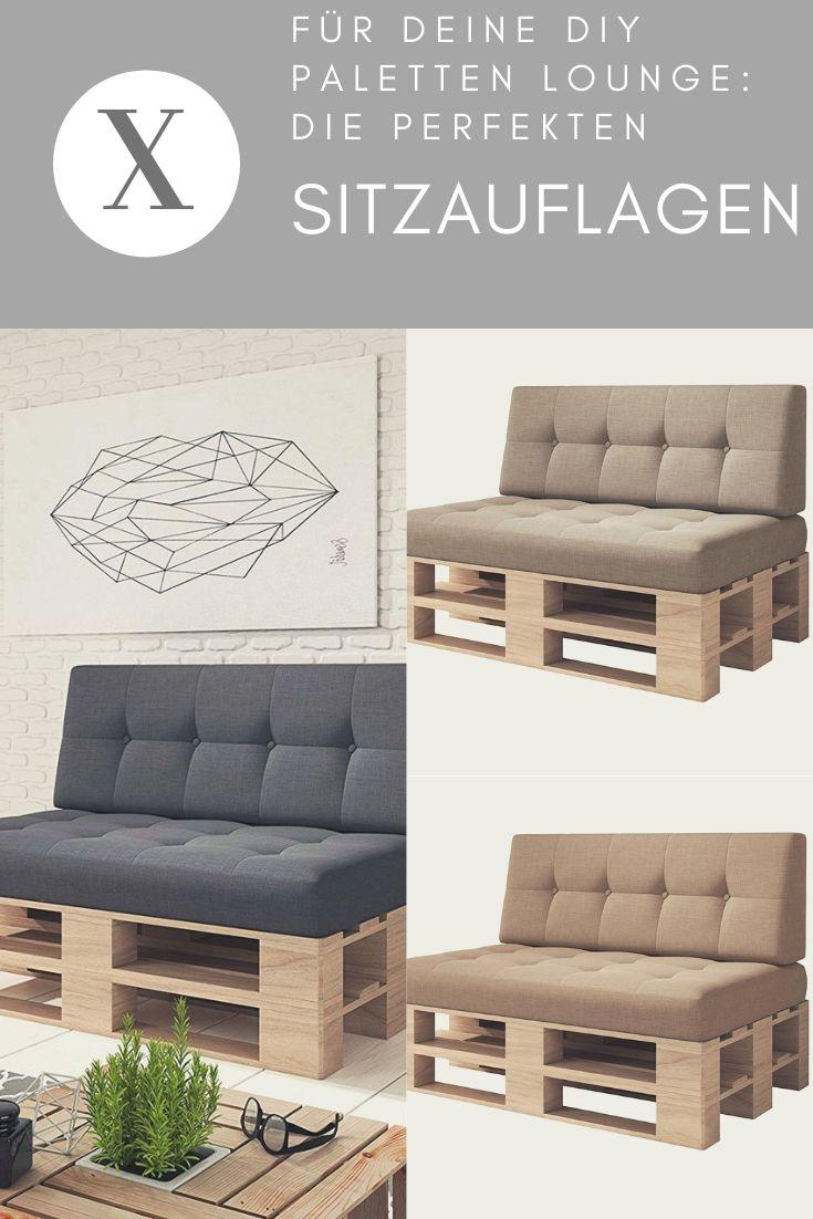 Paletten Sitzauflagen Mit Kissen Für Deine Diy Lounge Aus Paletten