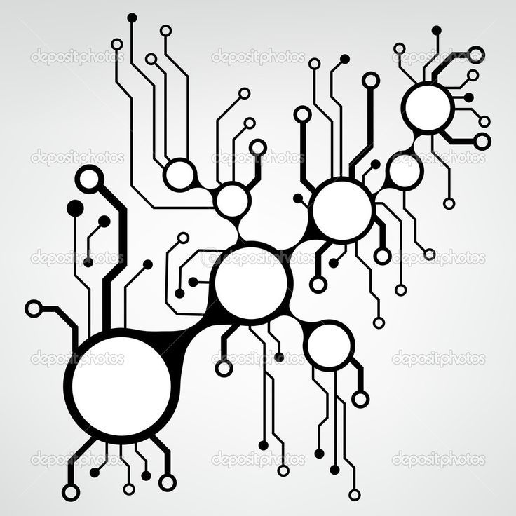 circuit board pattern vector - Google Search