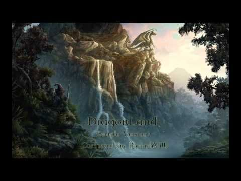 Celtic Music - DragonLand   BrunhuhVille