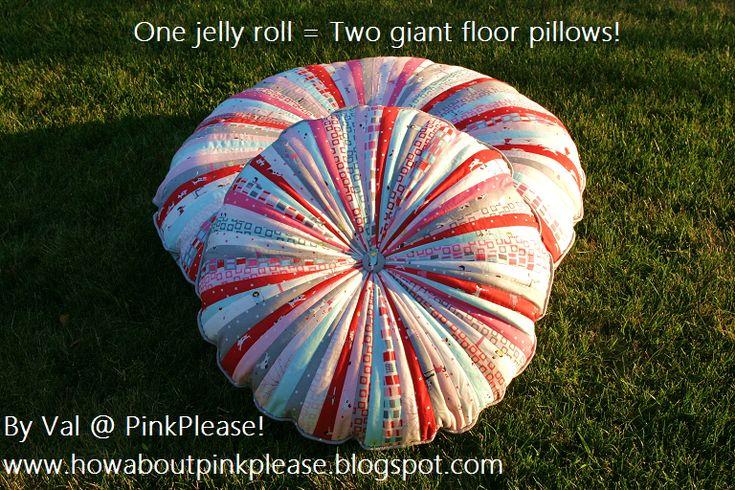 Jelly Roll Floor Pillows 171 Moda Bake Shop I Want To Make A