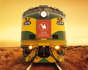 The Ghan - Travel by rail between Adelaide, Alice Springs and Darwin and you are embarking on one of the great train journeys of the world.   Done ✔️