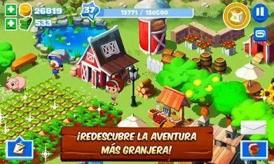 Green Farm 3 gratis para android, conviértete en el mejor granjero     Gameloft nos trae uno de los juegos más exitosos en las redes sociale...