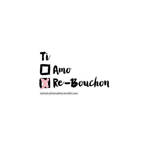 Ti Amo Tire-Bouchon - #JaimeLaGrenadine >>>...