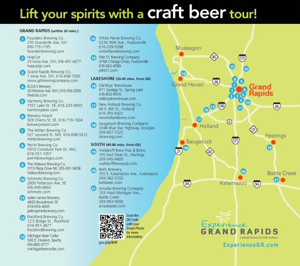 Craft Beer Tour in Grand Rapids area @Lisa Phillips-Barton Ford coming soon!