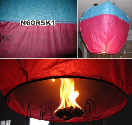 how to make a floating chinese paper lantern.