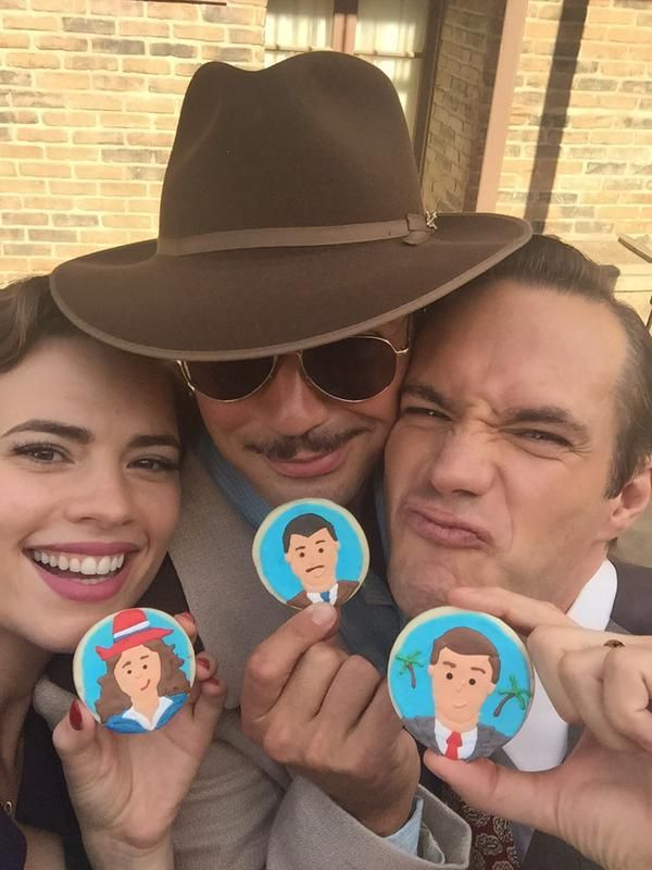 agent carter behind the scenes | Agent Carter' Season 2 – Fun Behind-The-Scenes Photos and Videos ...