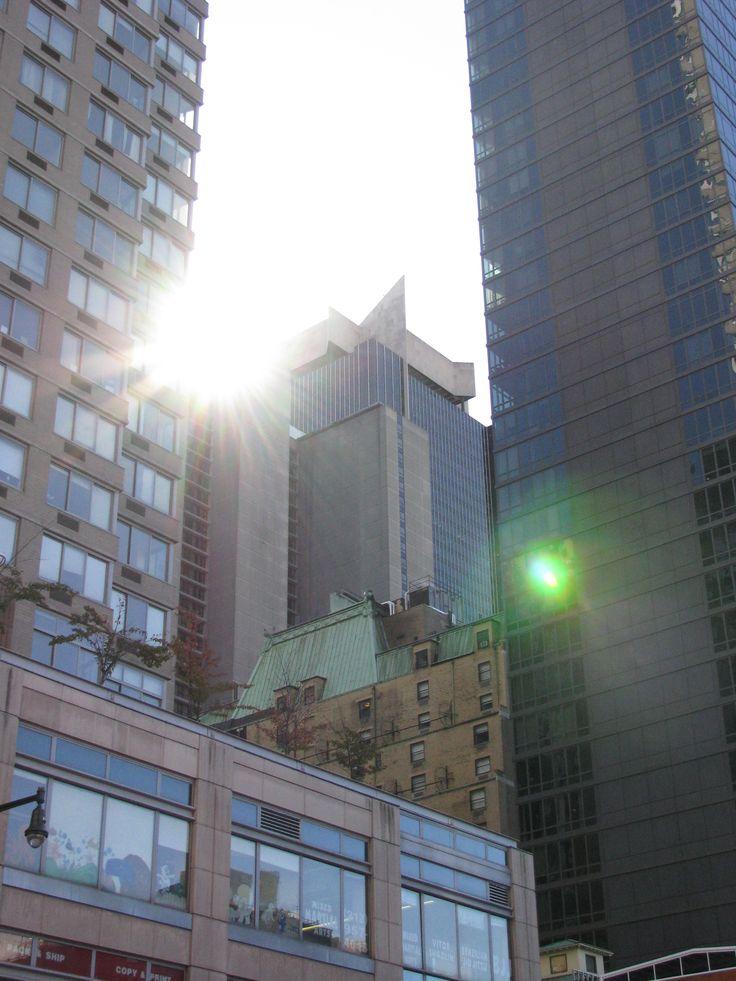 One Astor Plaza- Sun Flare by LadyAmanita.deviantart.com on @deviantART