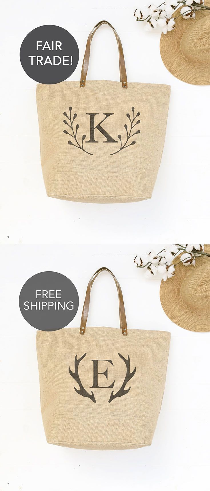 61 best Indigo Tangerine || Burlap Tote Bags & Custom Gifts images ...