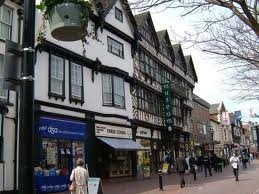 Town centre stafford