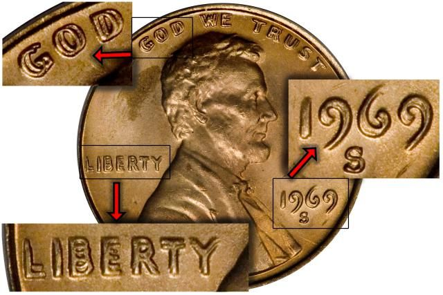 A man searching through a roll of Lincoln pennies finds a $126,500 1969-S Doubled Die Lincoln Cent. Read about how he did it!