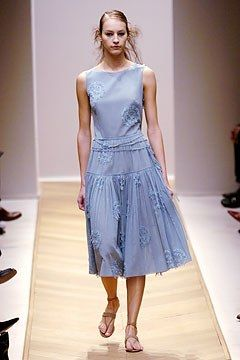 Akris Spring 2005 Ready-to-Wear Fashion Show - Vanessa Perron