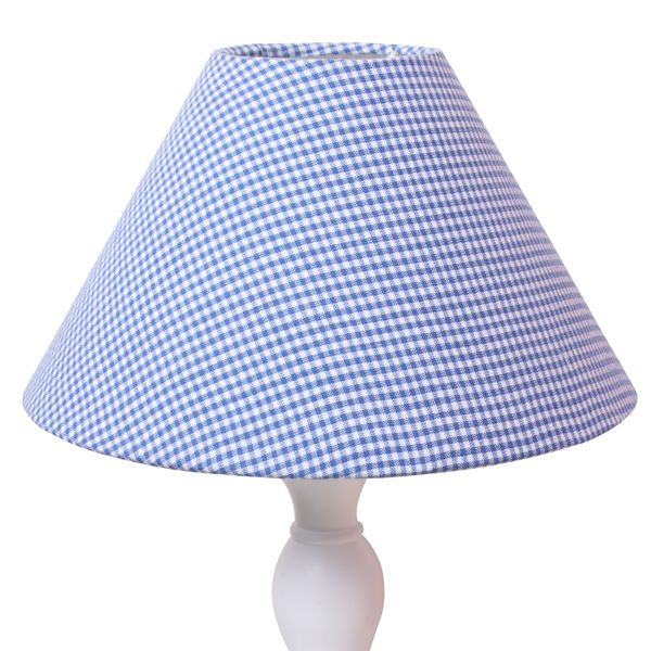Image Detail For Blue Gingham Lampshade