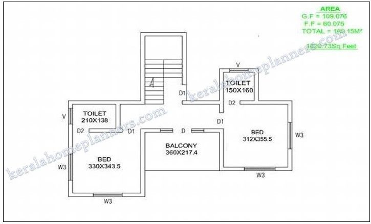 2000 Sq Ft House Plans Kerala Style In 2020 House Plans 2000 Sq Ft House 4 Bedroom House Plans
