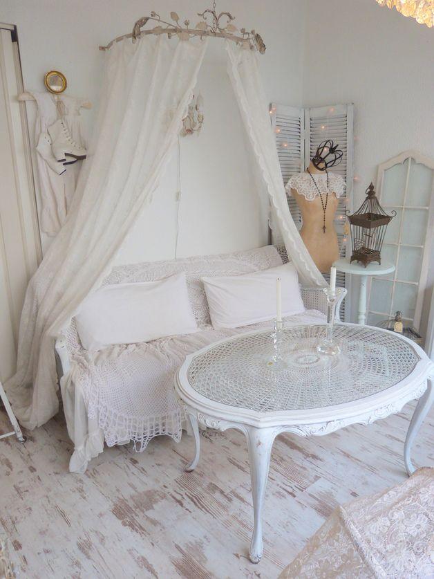 Die besten 25+ antikes Sofa Ideen auf Pinterest antike Couch - wohnzimmer deko shabby