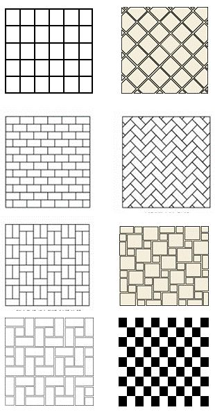 Bathroom Tile Design Patterns | Tile Floor Patterns to spark your bathroom tile design ideas www.lab333.com www.facebook.com/pages/LAB-STYLE/585086788169863 http://www.lab333style.com https://instagram.com/lab_333 http://lablikes.tumblr.com www.pinterest.com/labstyle