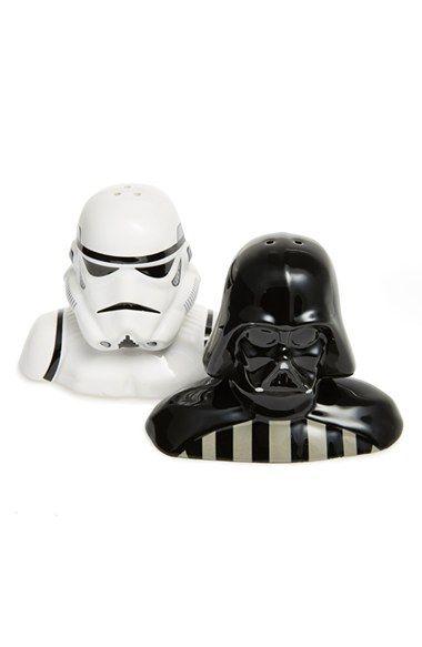 For those of us who love Star Wars @nordstrom #nordstrom #theforceawakens #starwars salt and pepper shakers