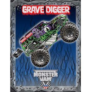 monster truck themed room monster jam 3d wall burst monster jam