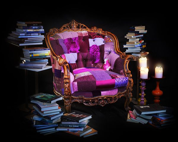 Truly Inspiring: Eclectic Furniture Collection Made from Recycled Materials