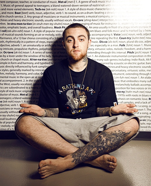 Mac Miller  Get the new album, today. It's just what you need.   Watching Movies with the Sound Off