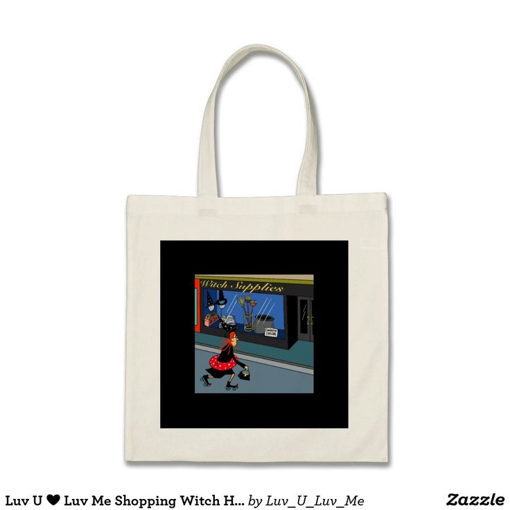 Luv U ❤️ Luv Me Shopping Witch HaLLowEEn Bag