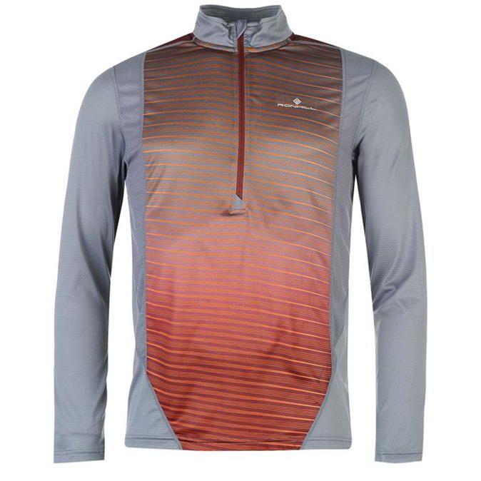 Ronhill | Ronhill Long Sleeve Zip Running Top | Men's Running Tops