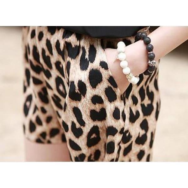 Шорты леопардовые спб