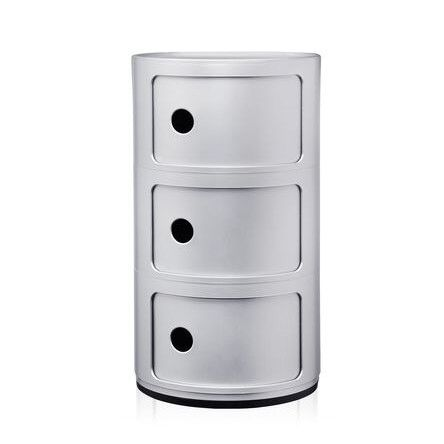 Componibili Round Storage Module, for toy storage in kids room? Already have 1 round three tier , could add another to have a pair as Maya bedside tables?