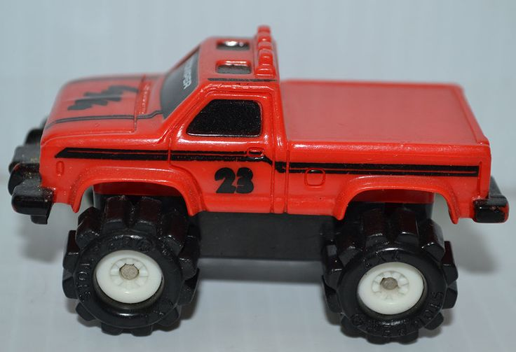 VINTAGE SCHAPER MINI STOMPER RED FORD RANGER 4X4 PICKUP MADE IN HONG KONG #SEEADTITLE #SEEADTITLE